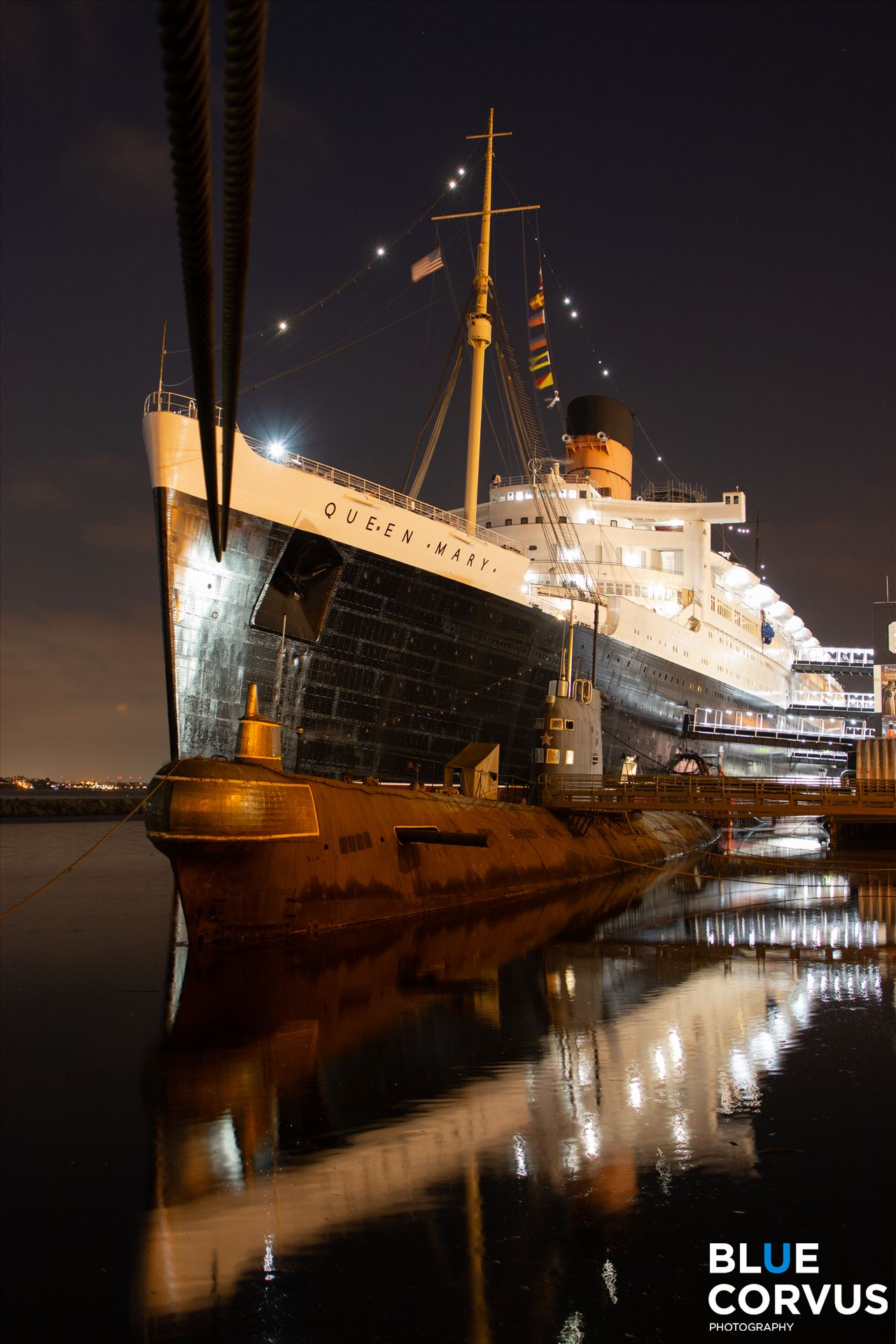 \x22A Trip Across Time, The Queen Mary\x22 -  by Eddie Zamora