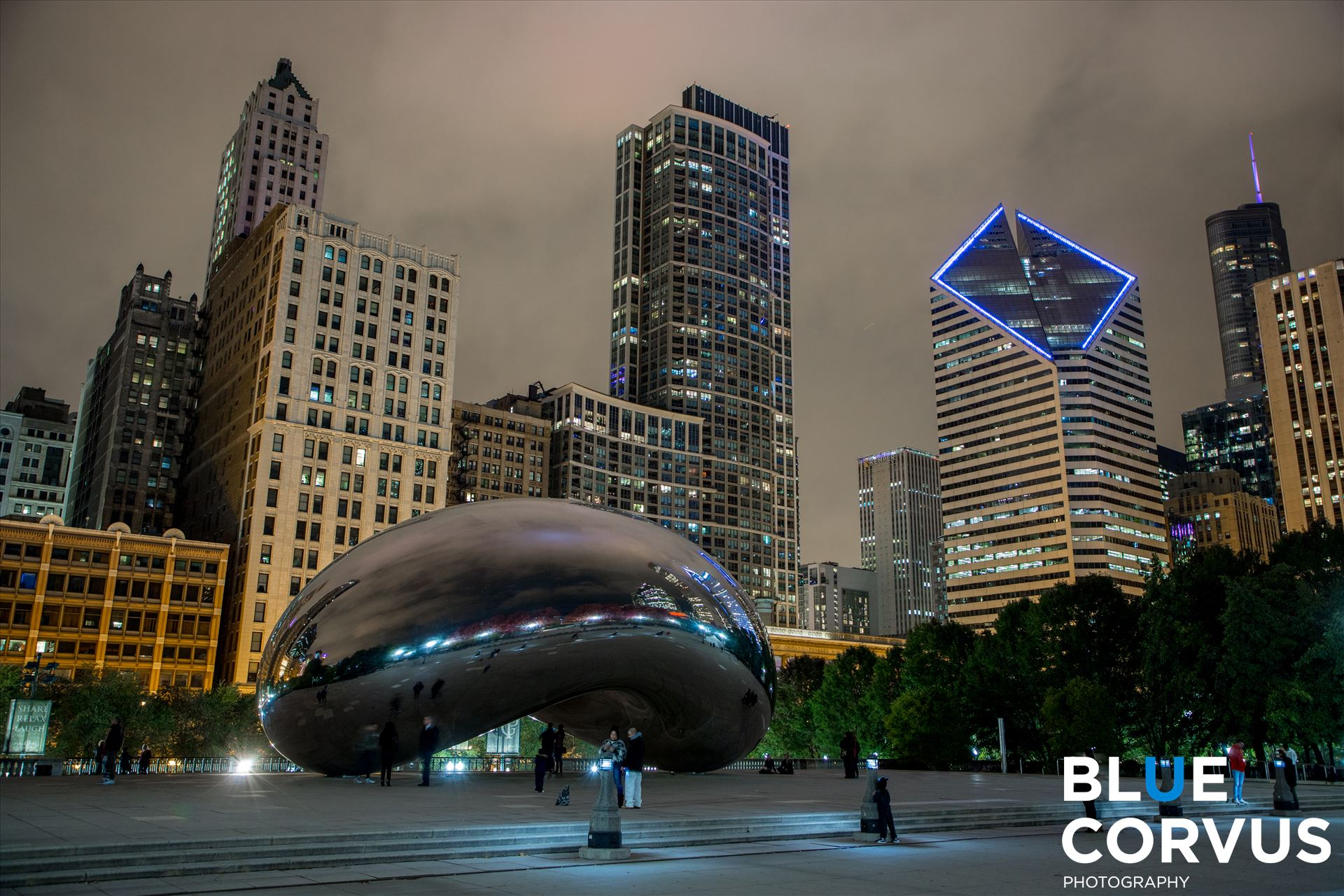 Cloud Gate -  by Eddie Zamora