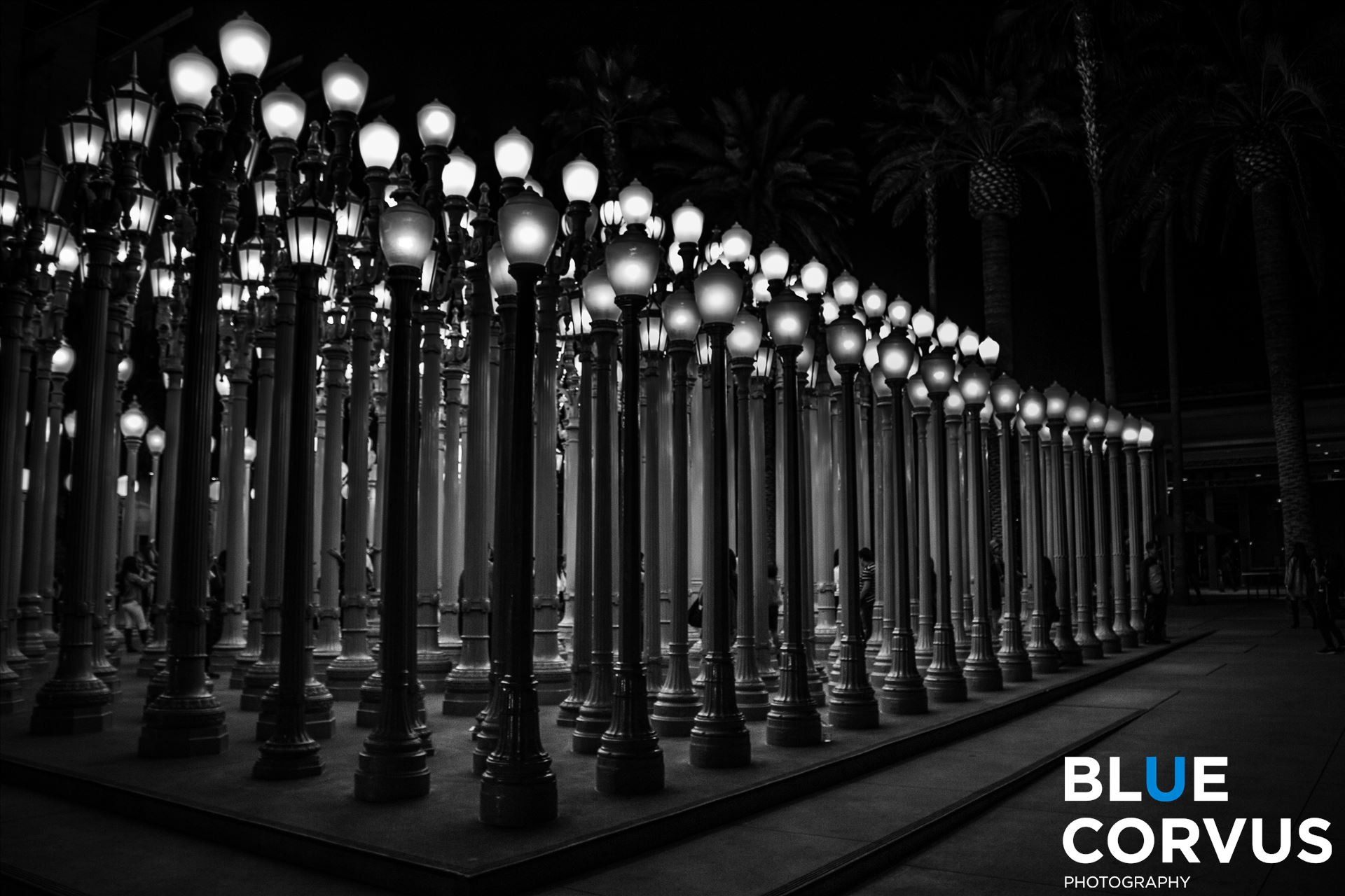 \x22Urban Light\x22 - Chris Burden's