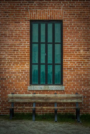 Window Into the Past - Location: Millerton Lake, CA.  Millerton Courthouse