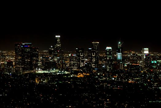 Los Angeles View from Griffith Observatory -